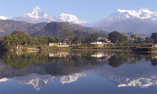 Pokhara city - family tour in Nepal